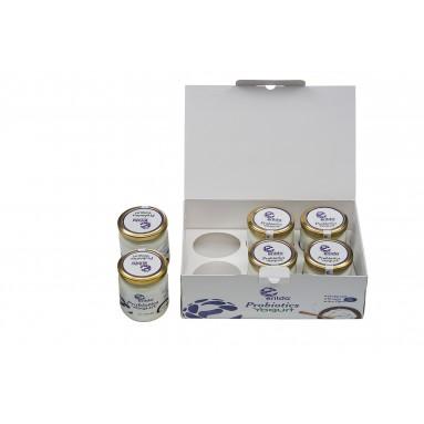 Erilda Probiyotik Yoğurt (6x1) 6 adet cam kavanoz