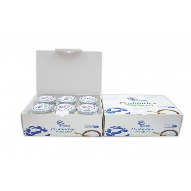 Erilda Probiyotik Yoğurt (6x2) 12 adet cam kavanoz